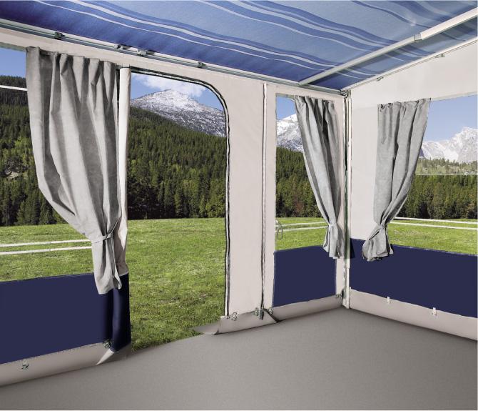 Luifel Privacy Safari Room Voortent Van Leinwand