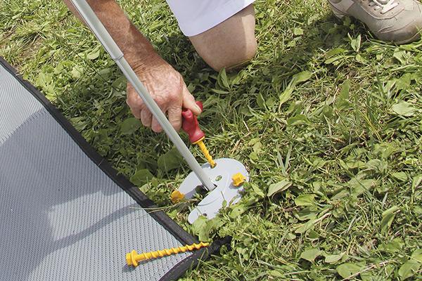 Kit Awning Pegs Innovatieve Schroefharing Set